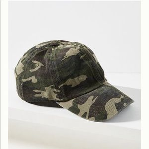 NWT Anthropologie Camo Hat